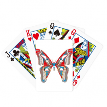 3D Butterfly in Red&Blue colour Poker Playing Card Tabletop Board Game Gift