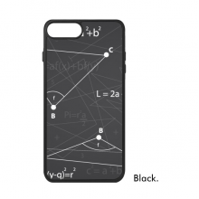 Grey Angle Mathematical Formula Calculus iPhone 8/8 Plus Cases iPhonecase Apple iPhone Cover Phone Case Gift