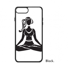 Yoga Girl Keep Healthy Cross Legged iPhone 8/8 Plus Cases iPhonecase Apple iPhone Cover Phone Case Gift