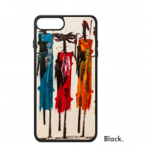 Abstract Art African Black Warrior iPhone 8/8 Plus Cases iPhonecase Apple iPhone Cover Phone Case Gift