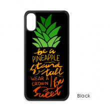 Be a Pineapple Stand Tall Quote iPhone X Cases iPhonecase Apple iPhone Cover Phone Case Gift