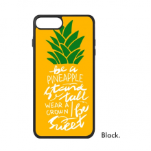 Pineapple Stand Tall Be Sweet Yellow Quote iPhone 8/8 Plus Cases iPhonecase Apple iPhone Cover Phone Case Gift