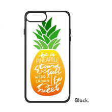 Pineapple Stand Tall Be Sweet Quote iPhone 8/8 Plus Cases iPhonecase Apple iPhone Cover Phone Case Gift