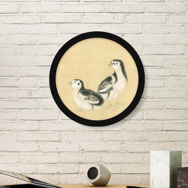 Chicks for Feeding Figure Chinese Painting Art Painting Picture ...
