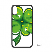 Four Leaf Clover Ireland St.Patrick's Day iPhone XS Max iPhonecase Cover Apple Phone Case