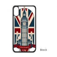 London Big Ben Union Jack United Kingdom UK for iPhone XS Max iPhonecase Cover Apple Phone Case