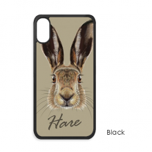 Grey Big-nosed Wild Hare Animal iPhone X Cases iPhonecase Apple iPhone Cover Phone Case Gift