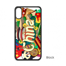 Panda Great Wall Imperial Palace China iPhone X Cases iPhonecase Apple iPhone Cover Phone Case Gift