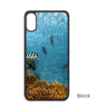 Ocean Fish Coral Science Nature Picture iPhone X Cases iPhonecase Apple iPhone Cover Phone Case Gift