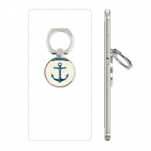 Anchor Droits Admiralty Blue Military Ocean Phone Ring Stand Holder Adjustable Loop Support