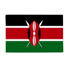 "Kenya National Flag Africa Country Anti-slip Floor Mat Carpet Bathroom Living Room Kitchen Door 16""x30""Gift"