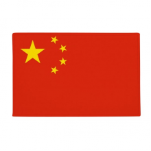 "China National Flag Asia Country Anti-slip Floor Mat Carpet Bathroom Living Room Kitchen Door 16""x30""Gift"