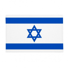 "Israel National Flag Asia Country Anti-slip Floor Mat Carpet Bathroom Living Room Kitchen Door 16""x30""Gift"