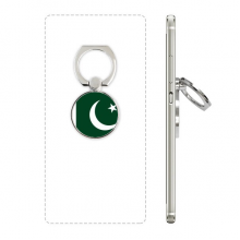 Pakistan National Flag Asia Country Phone Ring Stand Holder Adjustable Loop Support