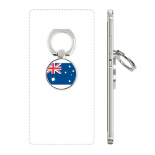 Australia National Flag Oceania Country Phone Ring Stand Holder Adjustable Loop Support