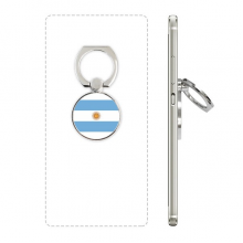 Argentina National Flag South America Country Phone Ring Stand Holder Adjustable Loop Support