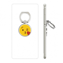 Love You Yellow Cute Online Chat Happy Phone Ring Stand Holder Adjustable Loop Support