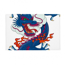 "China Chinese Dragon Cloud Pattern Anti-slip Floor Mat Carpet Bathroom Living Room Kitchen Door 16""x30""Gift"