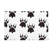 "Animal Claw Silhouette Simple Step Print Anti-slip Floor Mat Carpet Bathroom Living Room Kitchen Door 16""x30""Gift"