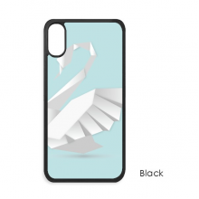 White Swan Abstract Butterfly Pattern Cute Cat iPhone X Cases iPhonecase Cover Case