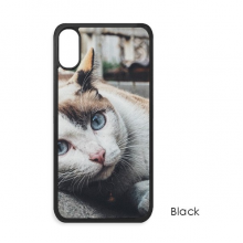 Animal  Colorful Cat Photograph Picture iPhone X Cases iPhonecase Apple iPhone Cover Phone Case Gift