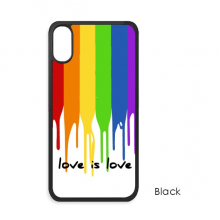 Love is Love LGBT Rainbow Color iPhone XS Max iPhonecase Cover Apple Phone Case