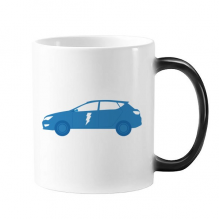 Energy Vehicles Protect Environment Changing Color Mug Morphing Heat Sensitive Cup Gift With Handles 350 ml