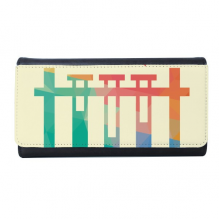 Different Temperatures Test Tube Chemistry Wallet Rectangle Card Multi-Function Purse Gifts
