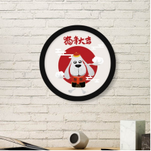 2018 Cloud Traditional Chinese Garments New Year Art Painting Picture Photo Wooden Round Frame Home Wall Decor Gift