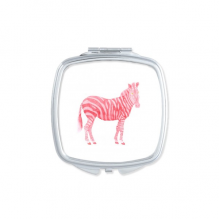 IUCN Endangered Animals Red Pinto Square Compact Makeup Mirror Portable Cute Hand Pocket Mirrors Gift