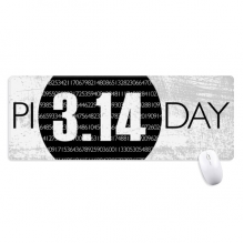 3.14 Pi Day Anniversary Non-Slip Mousepad Large Extended Game Office titched Edges Computer Mat Gift