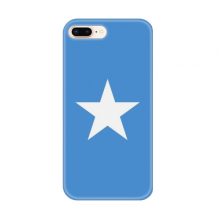 Somali National Flag Africa Country for Apple iPhone 7/8 Plus Phone Case Flexible TPU Soft Transparent Cover Gift