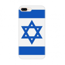 Israel National Flag Asia Country for Apple iPhone 7/8 Plus Phone Case Flexible TPU Soft Transparent Cover Gift