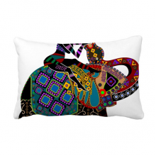 Elephant Trekking China Minority Dressing Totem Throw Lumbar Pillow Insert Cushion Cover Home Sofa Decor Gift