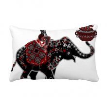 Elephant Performance China Minority Dressing Totem Throw Lumbar Pillow Insert Cushion Cover Home Sofa Decor Gift
