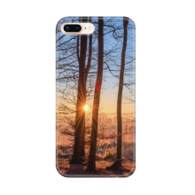 Dark Forestry Science Nature Scenery Apple iPhone 7/8 Plus Phone Case Flexible TPU Soft Transparent Cover Gift