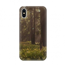 Dark Forestry Science Nature Scenery Apple iPhone X Phone Case Flexible TPU Soft Slim Transparent Cover Gift