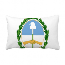 Buenos Aires Argentina National Emblem Throw Lumbar Pillow Insert Cushion Cover Home Sofa Decor Gift