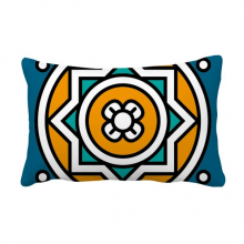 Abstract Morocco Style Geometry Pattern Throw Lumbar Pillow Insert Cushion Cover Home Sofa Decor Gift