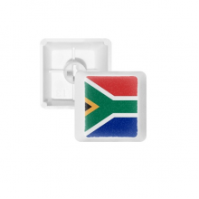 South Africa National Flag Africa Country PBT Keycaps for Mechanical Keyboard White OEM No Marking Print