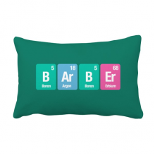 Barber Chemical Element Science Throw Lumbar Pillow Insert Cushion Cover Home Sofa Decor Gift