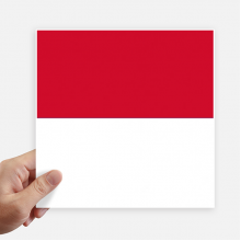 Indonesia National Flag Asia Country Sticker Tags Wall Picture Laptop Decal Self adhesive