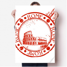Italy Rome Pit Classic Country City Sticker Poster Decal 31x22