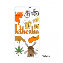 Netherlands Landscap Animals National Flag For iPhone 7/8 Plus Cases White Phonecase Apple Cover Case Gift