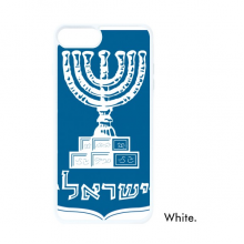 Israel National Emblem Country For iPhone SE 2 new for Apple 78 Case Cover White