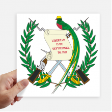 Guatemala National Emblem Country Sticker Tags Wall Picture Laptop Decal Self adhesive