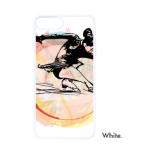 Winter Sport Figure Skating Watercolor Illustration For iPhone 7/8 Plus Cases White Phonecase Apple Cover Case Gift