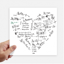 Limits Mathematical Formulas Calculus Painted Sticker Tags Wall Picture Laptop Decal Self adhesive