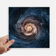 Whirlpool Nebula Nebula Particles Patterns Sticker Tags Wall Picture Laptop Decal Self adhesive