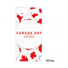 4th Of July Maple Leaf Happy Canada Day For iPhone SE 2 new for Apple 78 Case Cover White